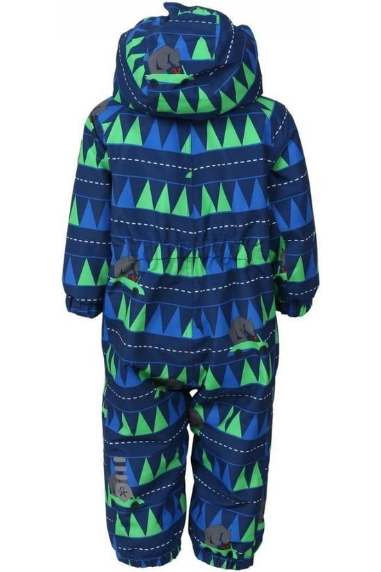 Color Kids Skipak Rimah Blauw/Ass. Geometrisch