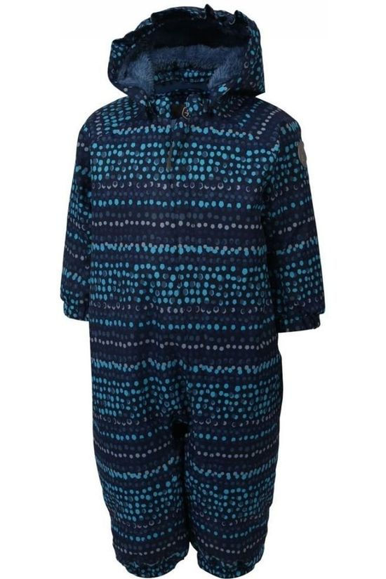 Color Kids Ski Suit Rimah Mid Blue/Assorted / Mixed