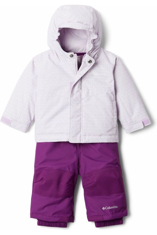 Columbia Ski Buga Set purple/off white