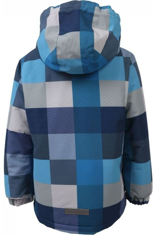Color Kids Jas Dikson B Middenblauw/Assortiment Geometrisch