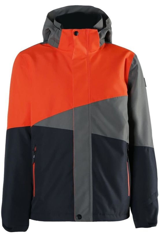 Brunotti Manteau Idaho-Jr Boys Gris Foncé/Orange