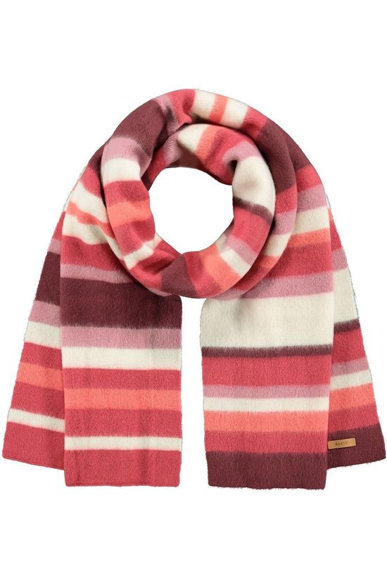 Barts Sjaal Barts Trory Scarf Middenroze/Wit