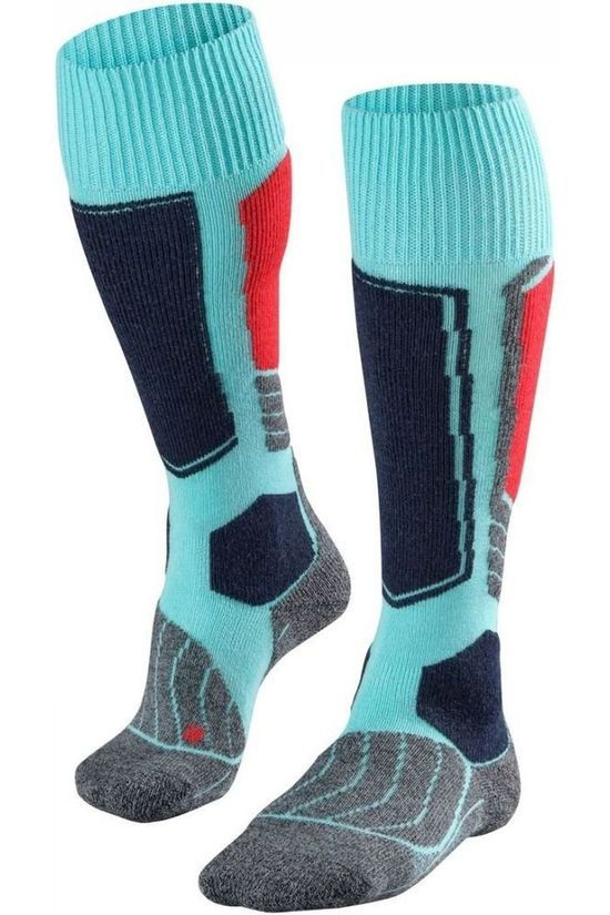 Falke Ski Sock Sk1 light green/red
