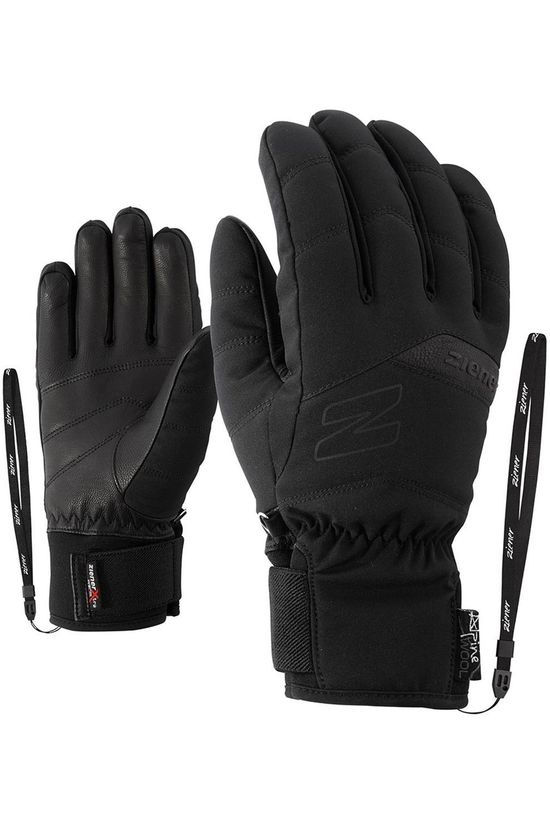 Ziener Glove Komi As Alpine Wool Glove black