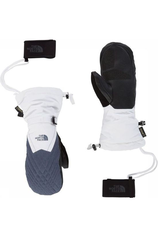 The North Face Want Montana Gore-Tex Mitt Wit/Middengrijs