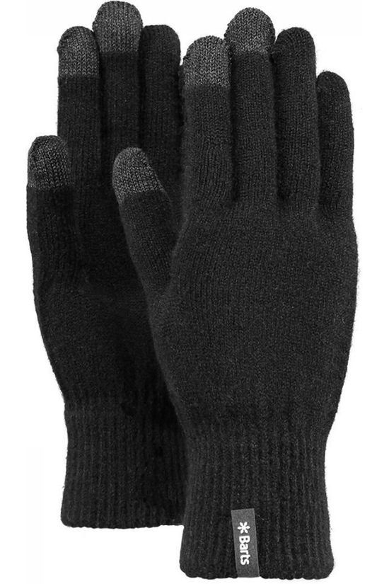 Barts Glove Fine Knitted Touch black