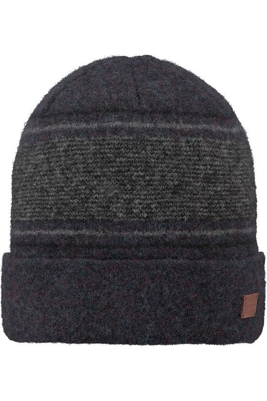 Barts Bonnet Barts Erish Beanie Navy Blue/Dark Grey Marle