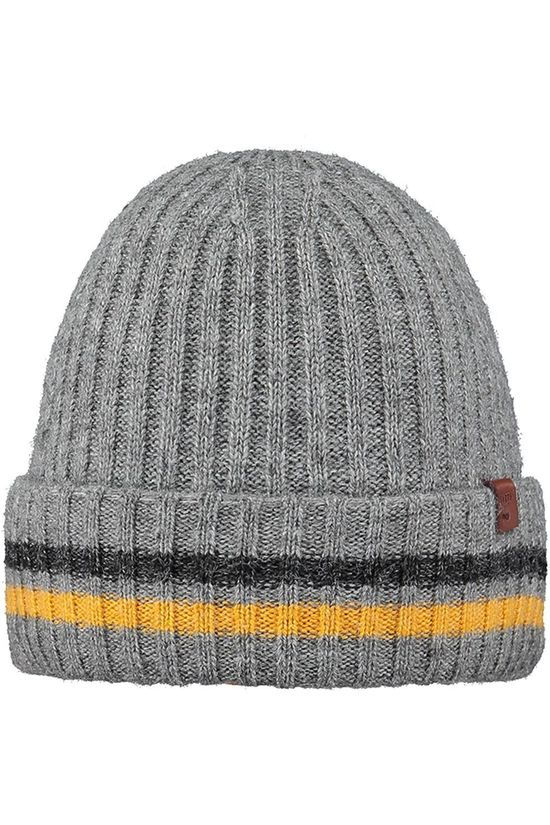 Barts Bonnet Barts Gavle Beanie light grey/yellow