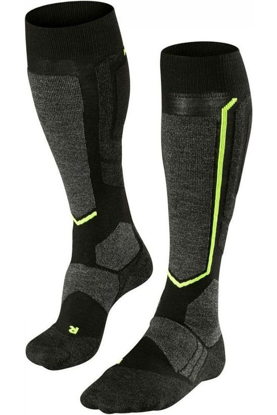 Falke Ski Sock Sb2 black/dark grey