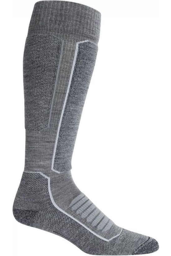 Icebreaker Ski Sock Ski + Medium dark grey/black