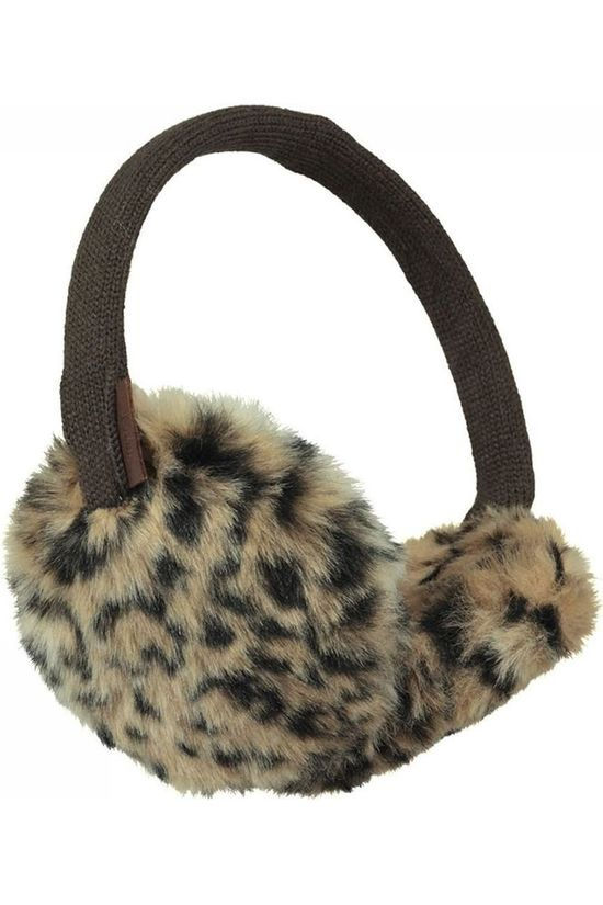 Barts Earmuff Plush brown/black