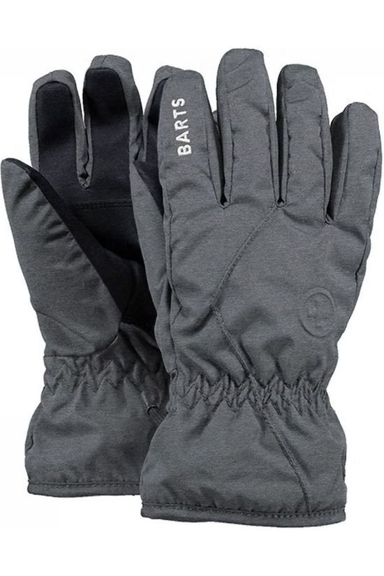 Barts Glove Basic Skigloves Kids Dark Grey Marle