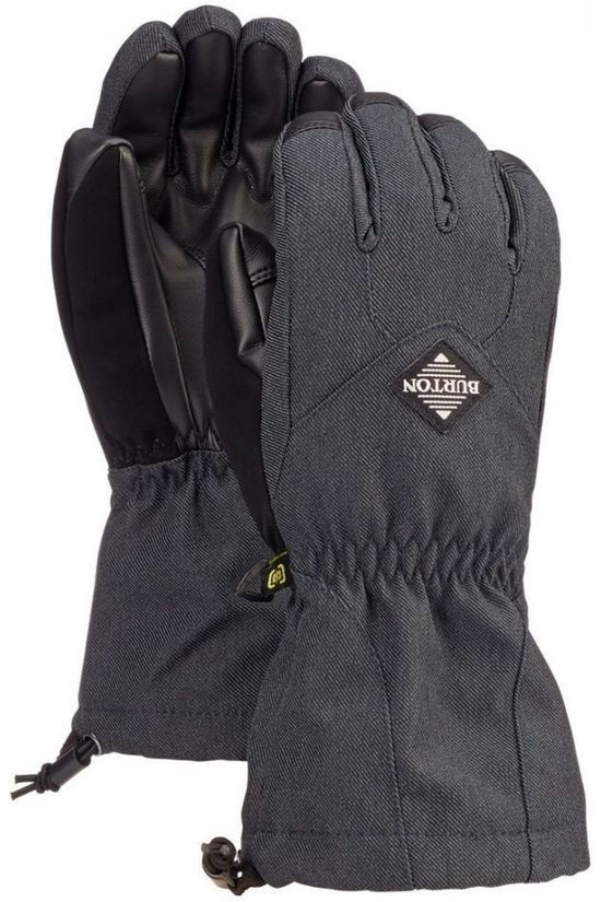 Burton Glove Kids Profile dark grey