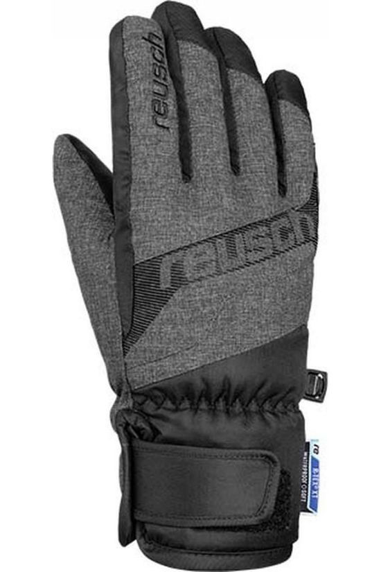 Reusch Glove Dario R-Tex XT black/dark grey
