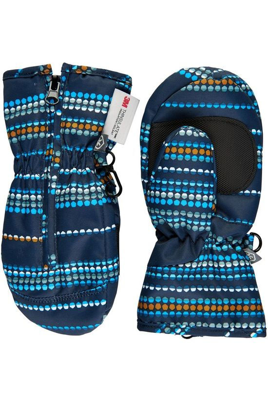 Color Kids Gant Mini Mittens Print Bleu/Assorti / Mixte