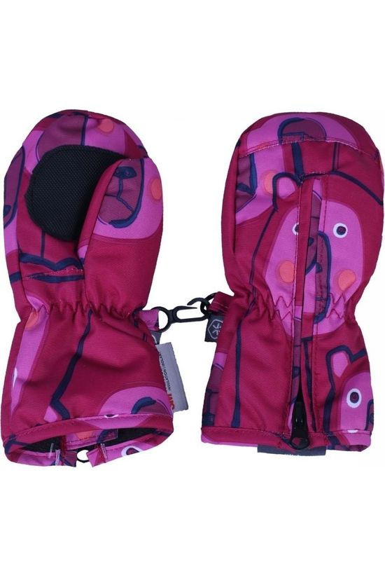 Color Kids Moufle Sompin Fuchsia/Assorti / Mixte