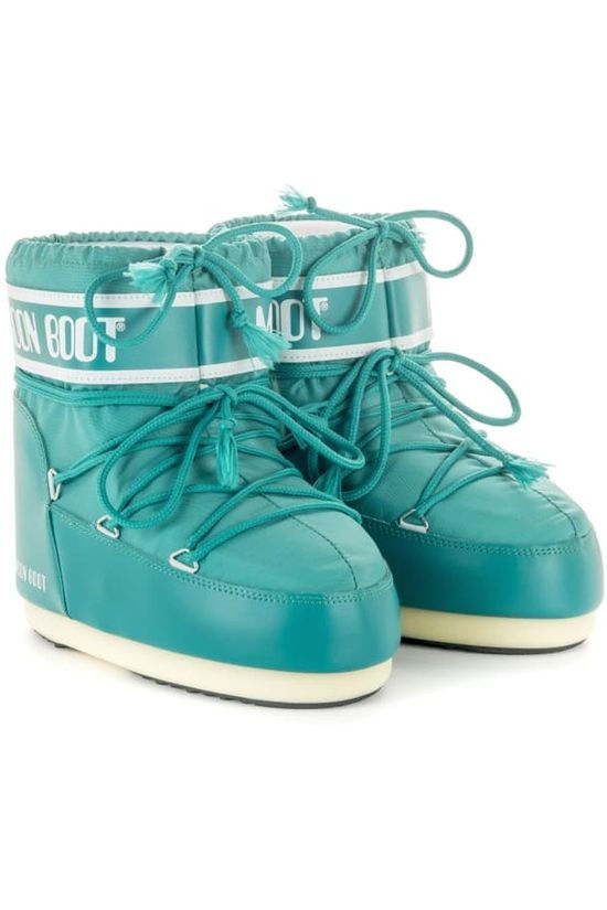 Moon Boot Moonboot Classic Low Turquoise