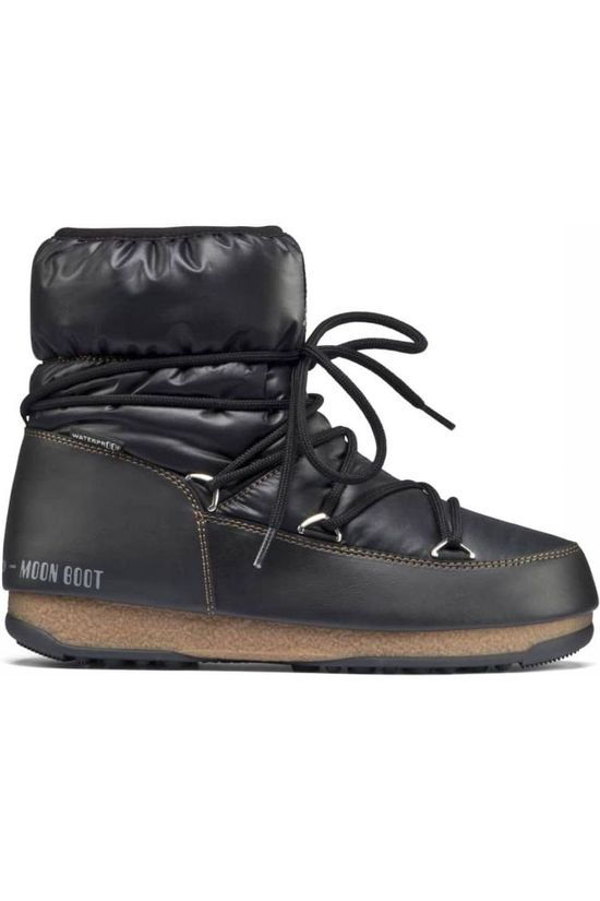 Moon Boot Botte Après-Ski MB West East Low Nylon WP Noir