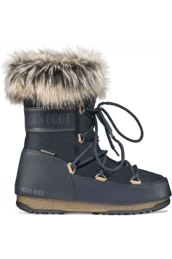 Moon Boot Botte Après-Ski Monaco Low WP 2 Bleu