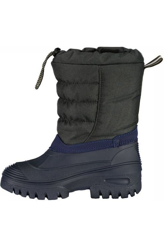 CMP Après Ski Boot Kids Hanki Dark Grey Marle/Blue