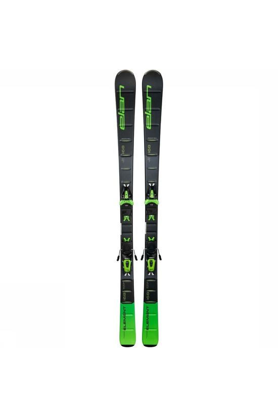 Elan Ski Element Green+El 10.0 Zwart/Oranje