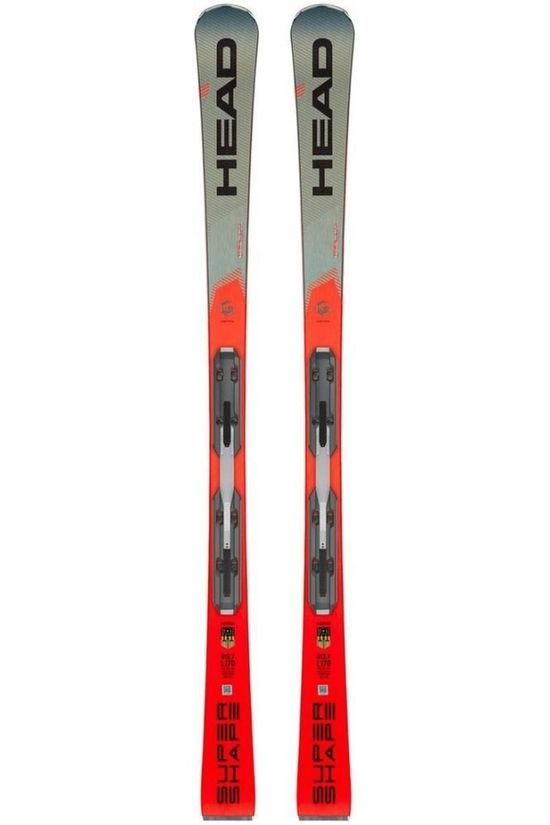 Head Ski Isupershape Rally+Prd 12 Gw Zwart/Rood
