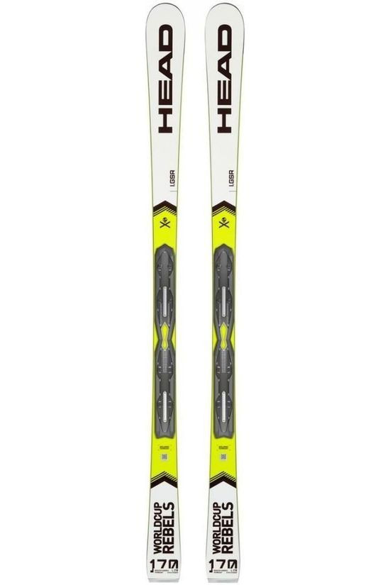 Head Ski Wc Rebels I.Gsr+Pr 11 Brake 78 Wit/Geel