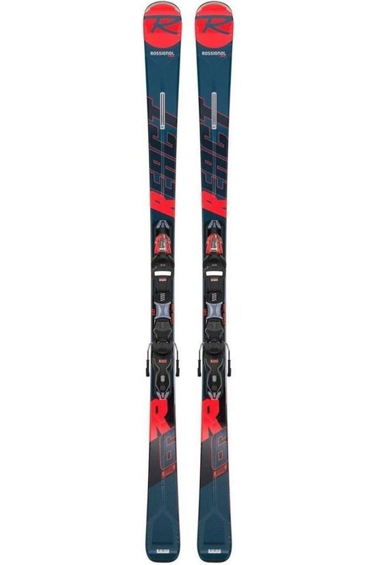 Rossignol Ski React R6 Compact+Xpress 11 Gw mid grey/red
