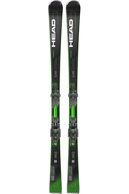 Head Ski Isupershape Magnum + Prd12 Gw black/yellow
