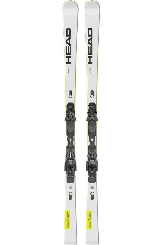 Head Ski Worldcup Rebels E.Speed-Freeflex St14 Blanc/Jaune