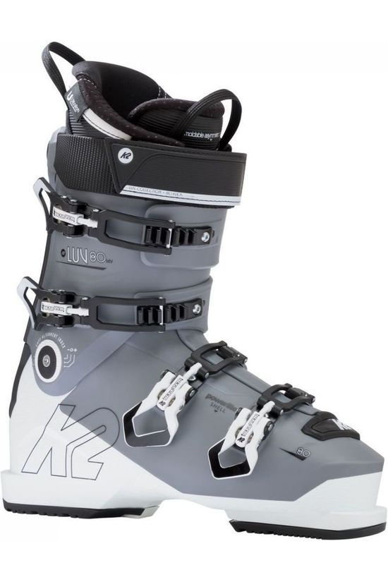K2 Ski Boot Luv 80 white/light grey