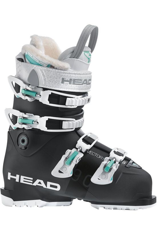 Head Skischoen Vector Rs 90 W Zwart/Wit