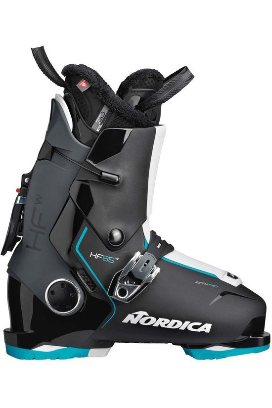 Nordica Ski Boot HF 85 W Gw black/light blue