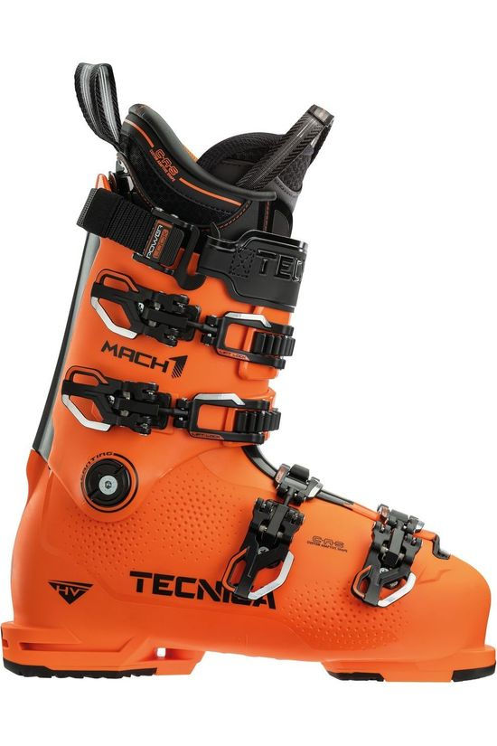 Tecnica Ski Boot Mach 1 130 Hv orange