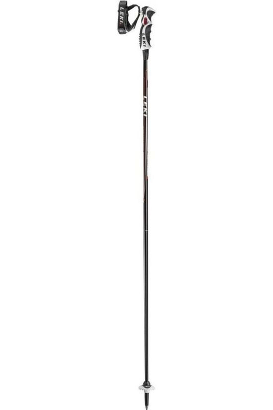 Leki Ski Pole Carbon 14 S black/red