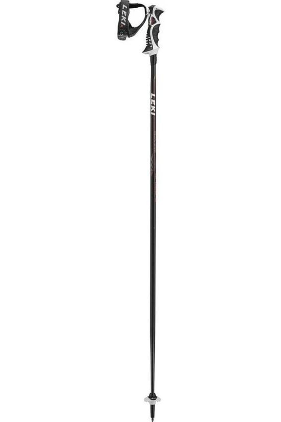 Leki Ski Pole Speed S Airfoil black/white