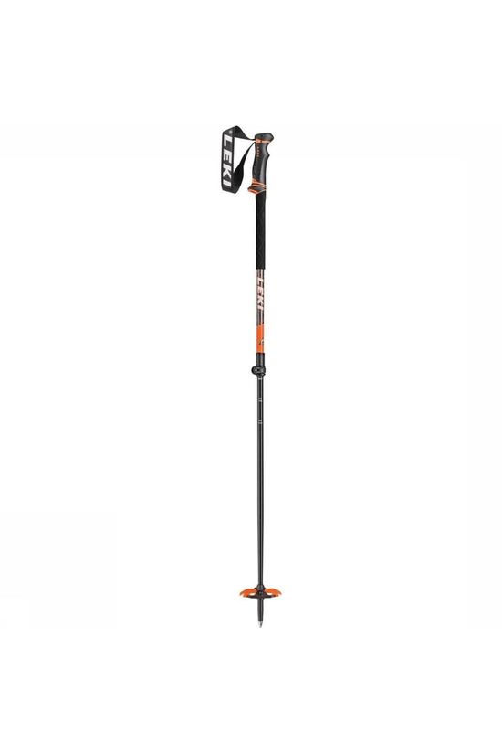 Leki Ski Pole Helicon dark grey/orange