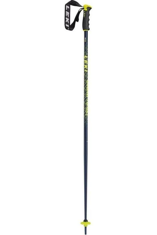 Leki Ski Pole Cobra Turn dark blue/yellow