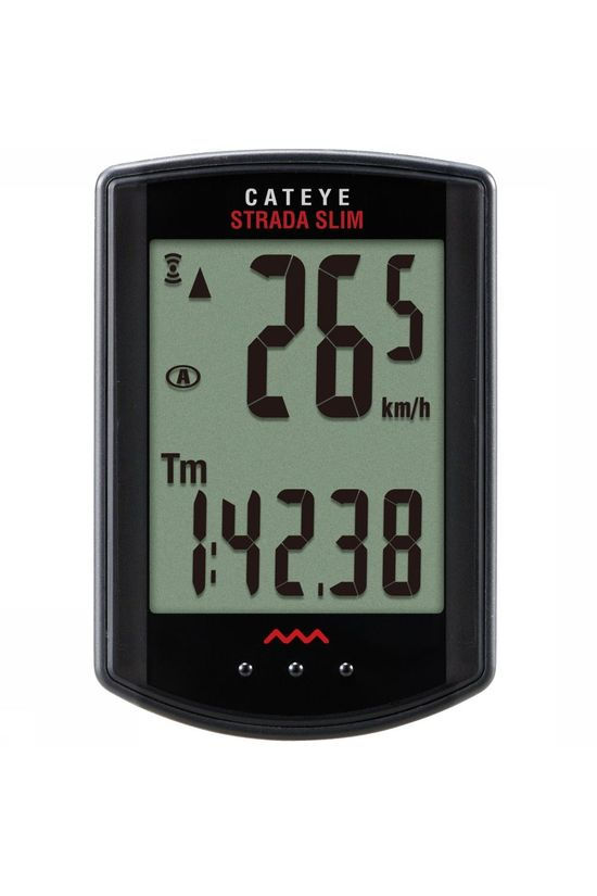 Cat Eye Ordinateur De Vélo Strada Slim Rd310W DL Noir