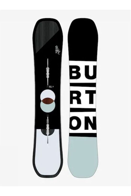 Burton Snowboard Custom Flying V black/mid grey