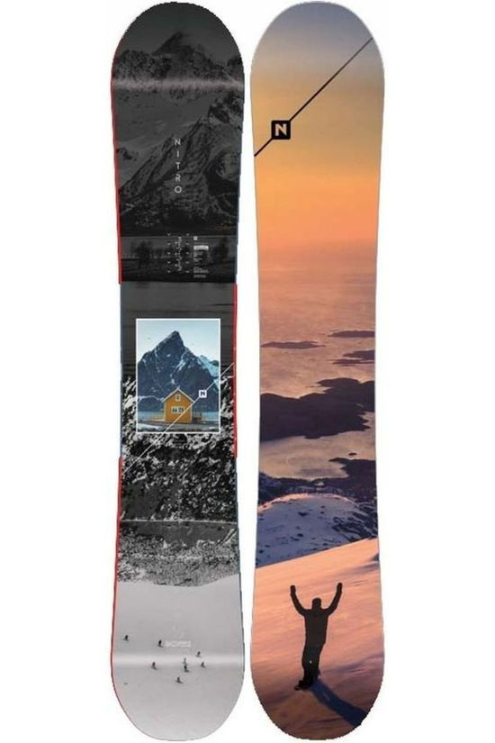 Nitro Snowboard Team Exposure Dark Grey/Assorted / Mixed