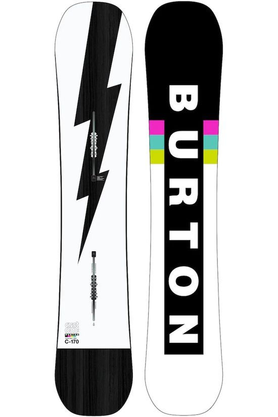Burton Snowboard Custom white/black