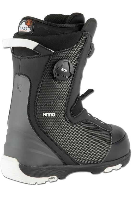 Nitro Snowboard Boot Club Boa mid grey