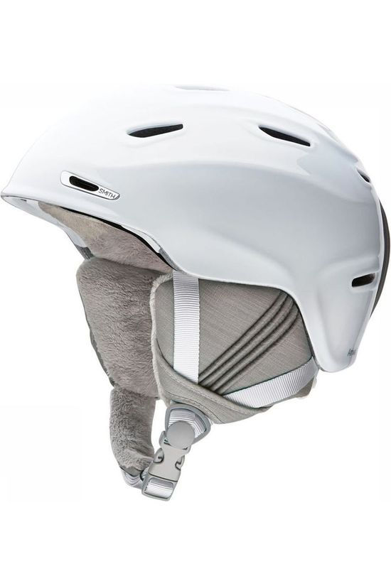 Smith Casque de Ski Arrival Blanc