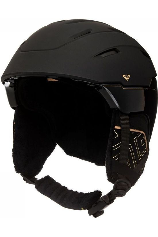 Roxy Casque De Ski Ivory Srt Noir/Or