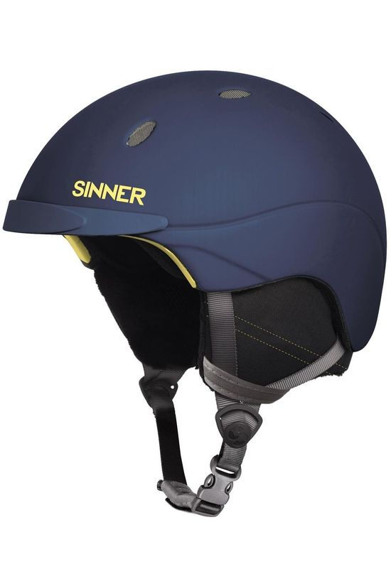 Sinner Ski Helmet Titan dark blue/dark yellow