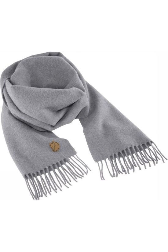 Fjällräven Scarf Solid Re-Wool mid grey