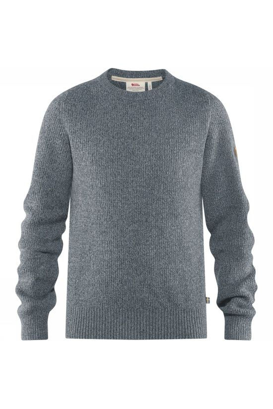 Fjällräven Pullover Greenland Re-Wool Crew dark grey