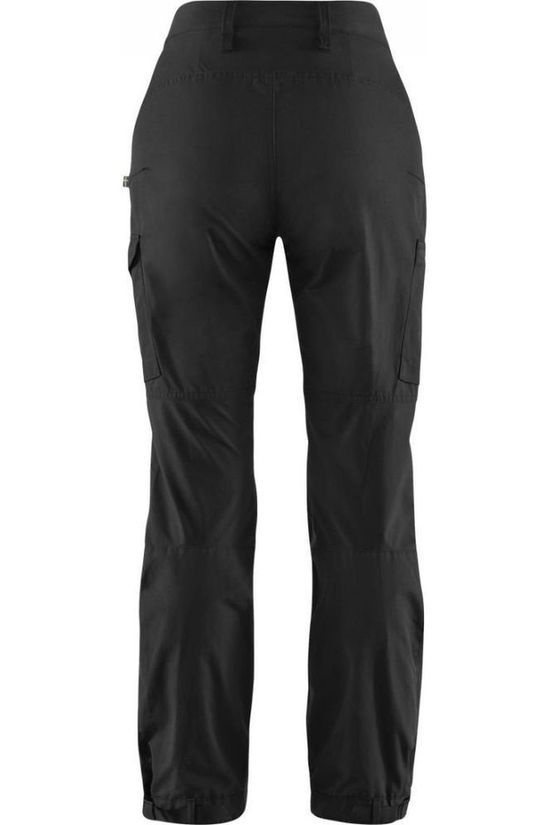 Fjällräven Trousers Kaipak Curved black