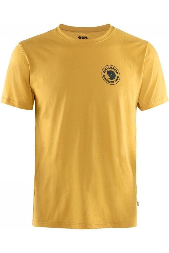 Fjällräven T-Shirt 1960 Logo dark yellow